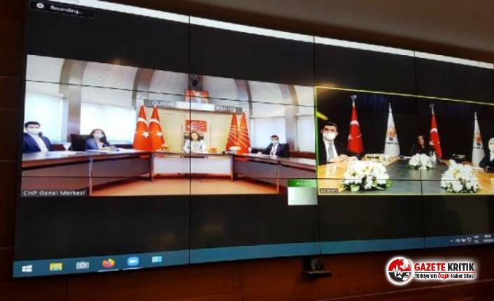 CHP, diğer partilerle video konferans ile bayramlaştı