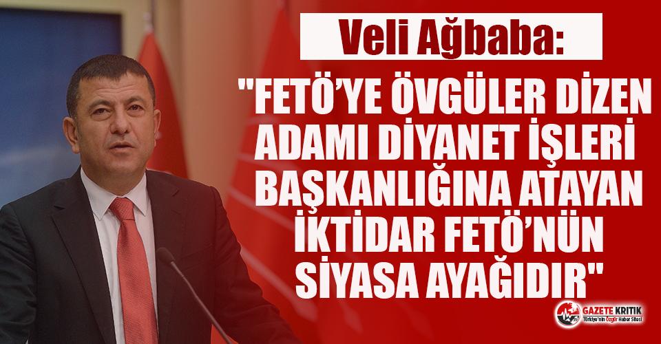 CHP'li Ağbaba'dan Atatürk'e lanet okuyan Ali Erbaş'la ilgili sert sözler!