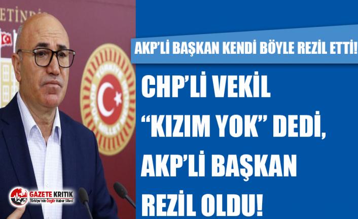 "CHP'Lİ VEKİL ""KIZIM YOK"" DEDİ, AKP'Lİ BAŞKAN REZİL OLDU!"
