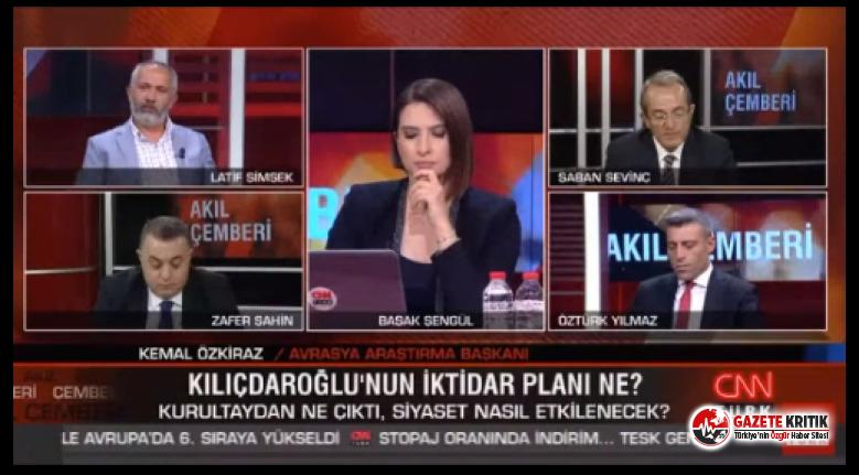 """CNN Türk canlı yayını karıştı: Sunucusu """"Siz cevap vermeyin"""" diye yalvardı"""