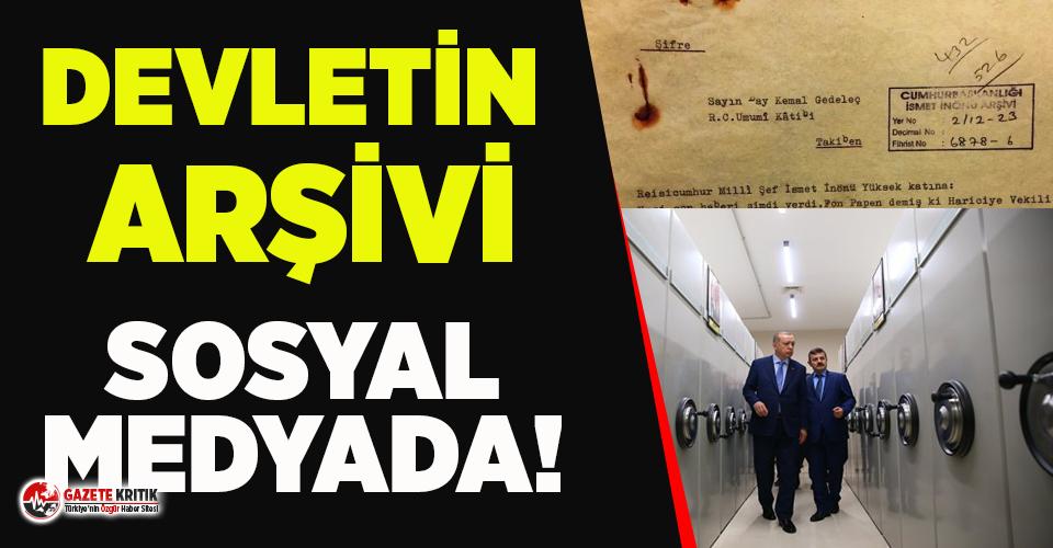 Devlet belgeleri sosyal medyada dolaşıyor! İsmet İnönü ile Şükrü Saraçoğlu'nun gizli yazışmalarını ifşa etti