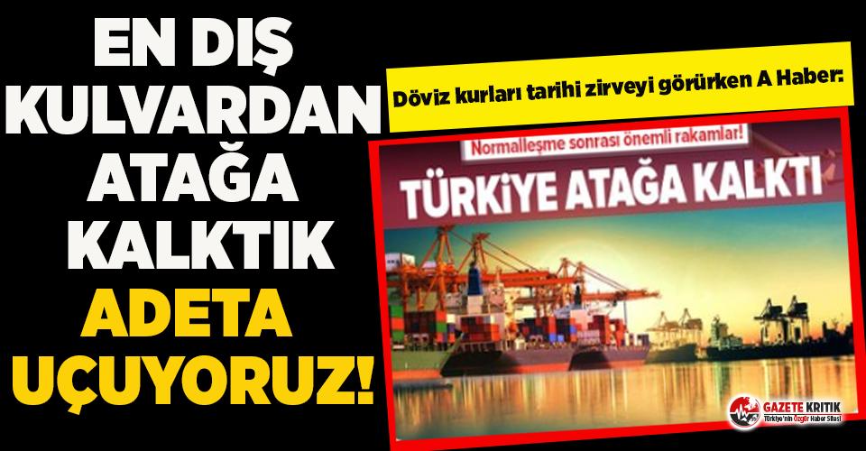 Dolar kuru tarihi zirveye yaklaşmışken A Haber: Türkiye atağa kalktı