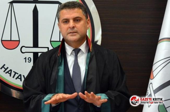Gözaltına alınan Hatay Barosu Başkanı:Polisler hastaneye gidene kadar tehdit ettiler