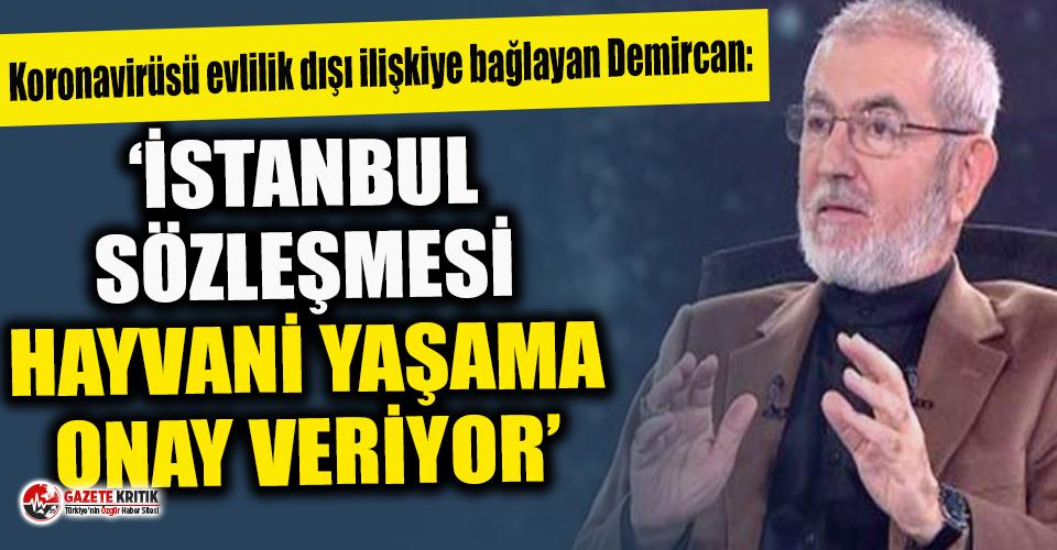 """İlahiyatçı Rıza Demircan: """"İstanbul Sözleşmesi hayvani yaşama onay veriyor"""""""