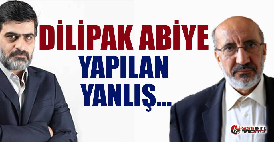 Karahasanoğlu, AKP'nin dava açmaya hazırlandığı Dilipak'a sahip çıktı
