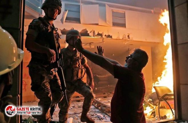 Lübnan'da göstericiler hükümet binasını bastı:490 kişi yaralandı!