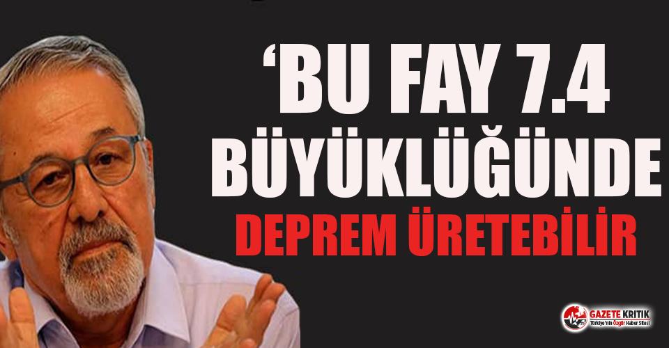 Prof. Dr. Naci Görür'den kritik deprem uyarısı!