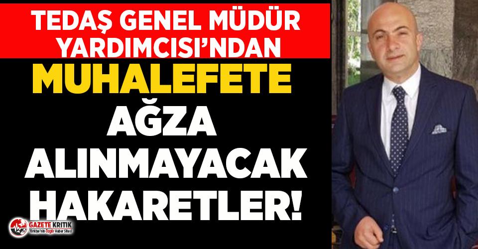 TEDAŞ Genel Müdür Yardımcısı, Meral Akşener ve Faik Öztrak'a küfür yağdırdı!