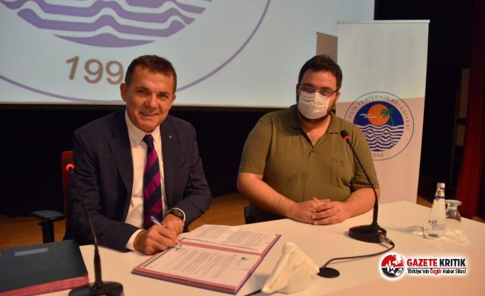Yenişehir Belediyesi iklim değişikliğine 'dur' diyor