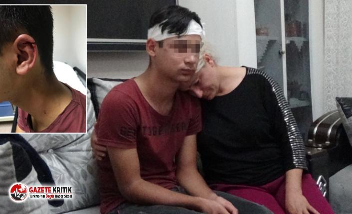 15 yaşındaki çocuğu kale direğine bağladılar; 3 saat işkence edip, dövdüler!