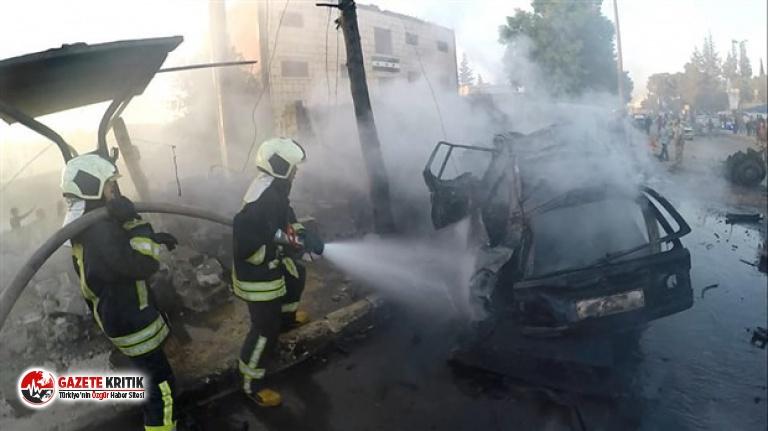 Afrin'deki bombalı saldırıda ölü sayısı 7'ye, yaralı sayısı 40'a yükseldi