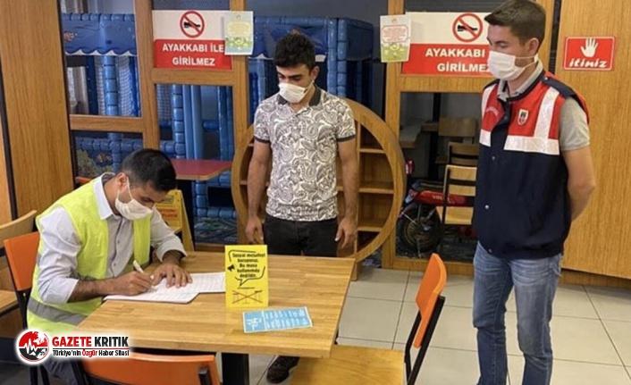 Ağrı'da karantinayı ihlal eden bir kişiye 3 bin 150 lira para cezası kesildi