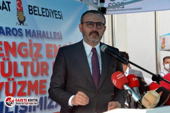 AKP'li Mahir Ünal: Erdoğan milletin adamı olduğu için yedi düvel onunla mücadele ediyor