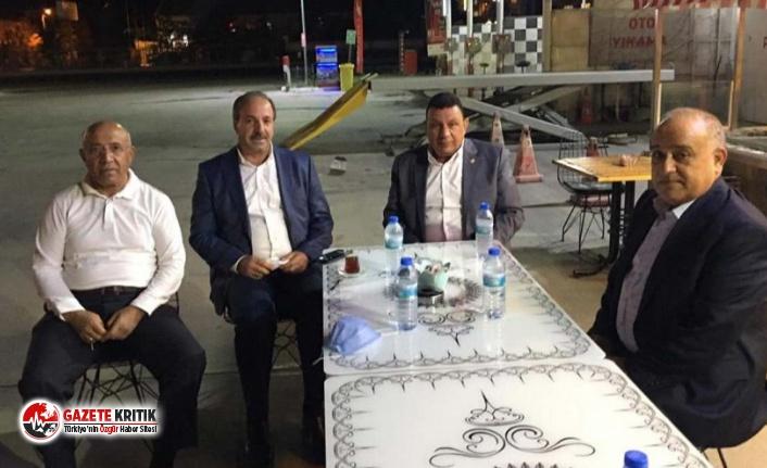 AKP'li ve MHP'li iki milletvekili kavgasını polis ayırdı!