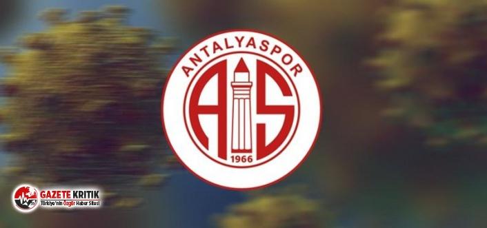 Antalyaspor'da 1 futbolcu ve 1 kulüp personelinin Kovid-19 testi pozitif çıktı
