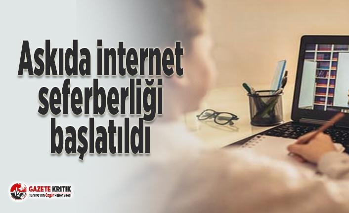 Askıda internet seferberliği başlatıldı