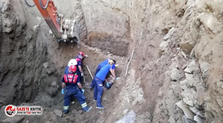 Aydın'da feci olay! Su kuyusu açarken oluşan göçükte 2 kişi hayatını kaybetti