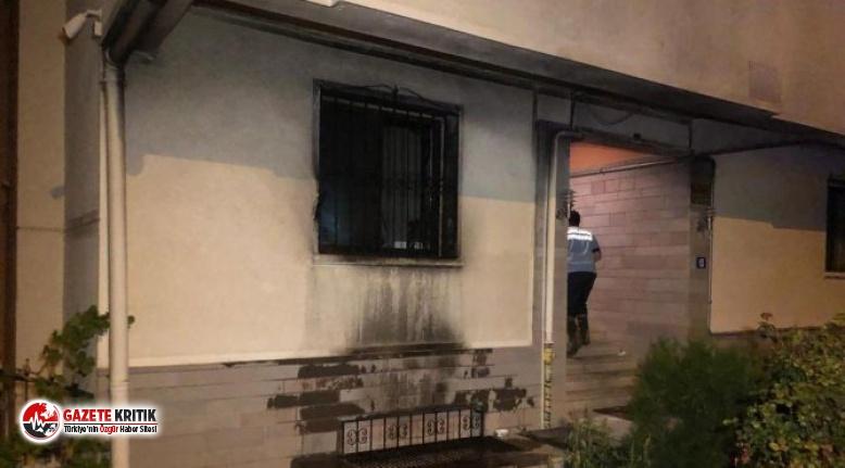 Babasıyla tartıştı, benzin döküp evi yaktı