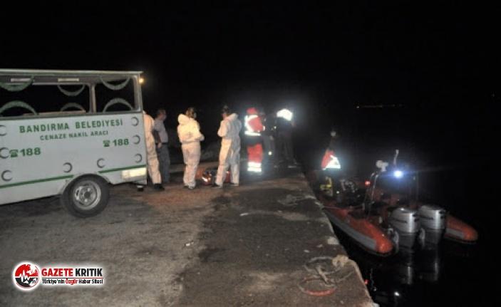 Balıkesir'de denizde erkek cesedi bulundu