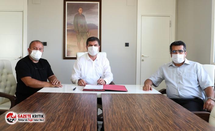 Başkan Ercengiz ve Doğa Hareketleri Araştırma Derneği arasında imzalanan protokol