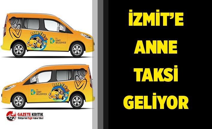 Belediyeden 'Anne Taksi' projesi