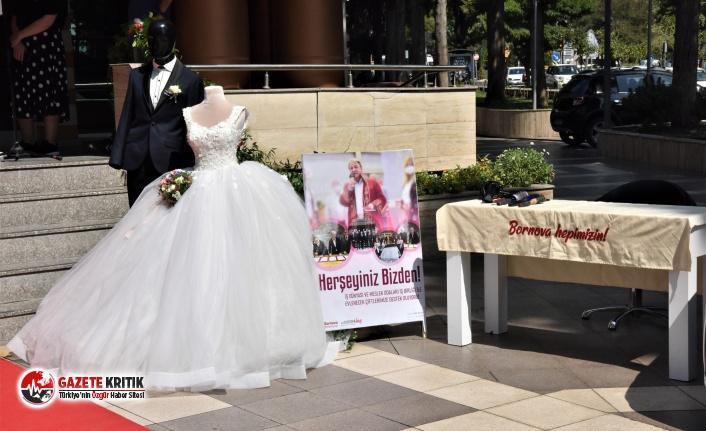 Bornova Belediyesi'nden evlenmek isteyen gençlere destek