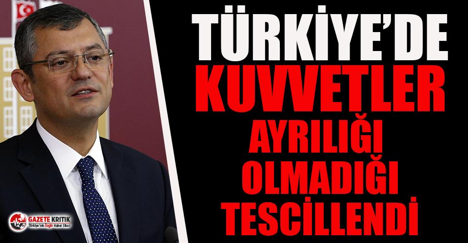 CHP'li Özgür Özel: Milletin manipülasyonlara karnı tok!