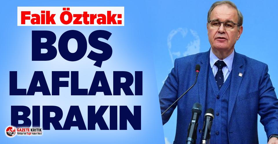 CHP'li Öztrak'tan döviz tepkisi: Boş lafları bırakın
