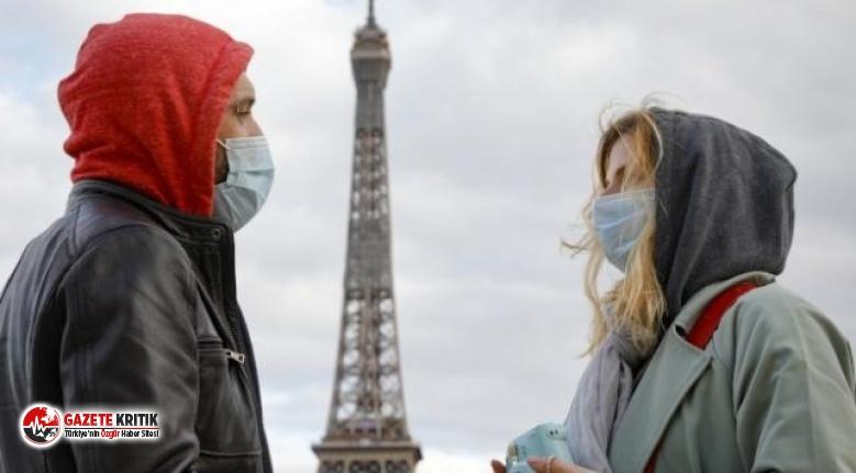 Fransa'da günlük vaka sayısında yeni rekor kırıldı