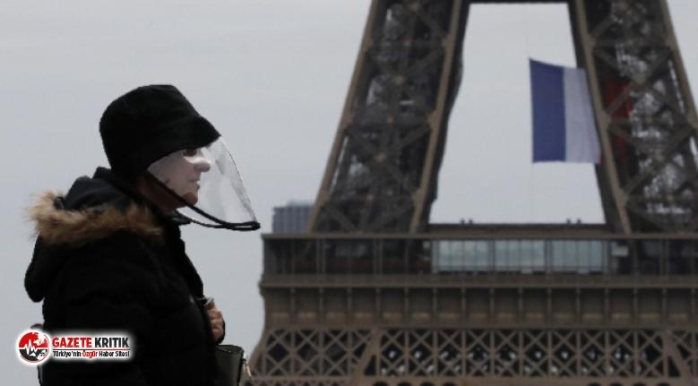 Fransa'da son 24 saatte 10 binden fazla Kovid-19 vakası tespit edildi