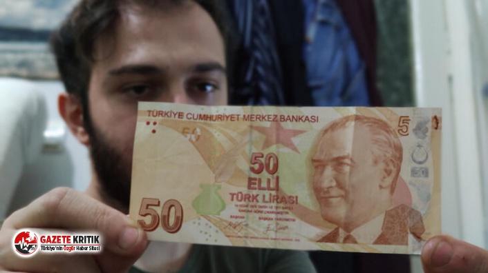 Hatalı basım 50 lirayı 75 bin liradan satışa çıkardı