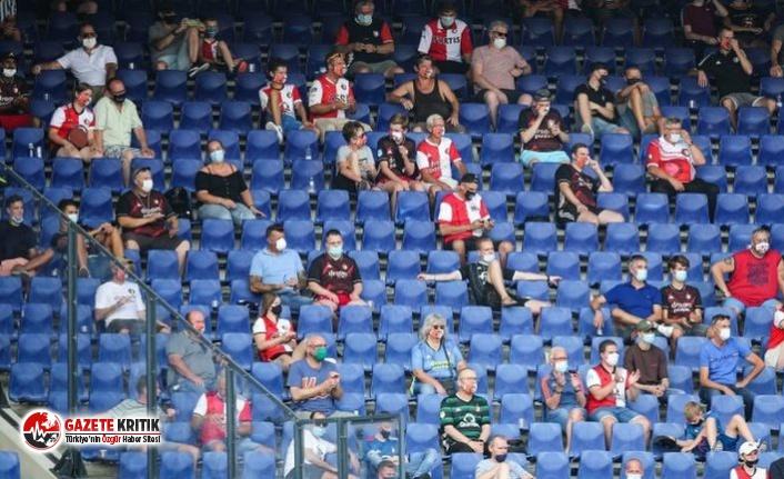 Hollanda'da spor karşılaşmalarına yeniden seyirci yasağı getirildi