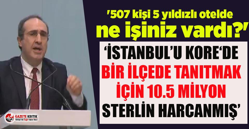 İBB'de AKP dönemindeki 10.5 milyon sterlinlik israf ortaya çıktı!