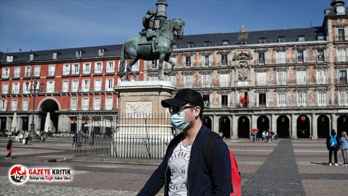 İspanya'da son 24 saatte 10 bin 653 yeni koronavirüs vakası tespit edildi