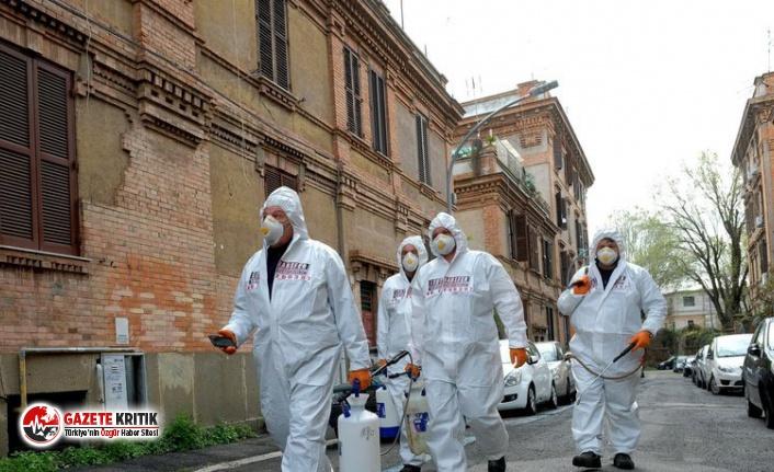 İtalya'da son 24 saatte 1392 yeni koronavirüs vakası görüldü
