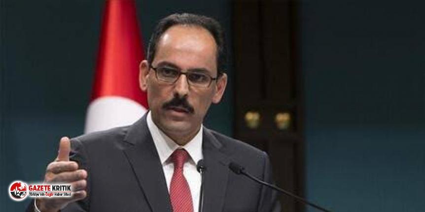 Kalın'dan HDP'lilere fezleke yorumu: 'Hukuki bir süreç'