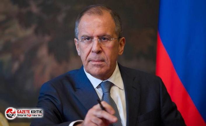 Lavrov: Suriye Anayasa Komitesi'nin çalışmasıyla ilgili iş birliği devam ediyor