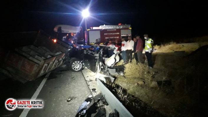 Mardin'de feci kaza! Çok sayıda ölü ve yaralı var