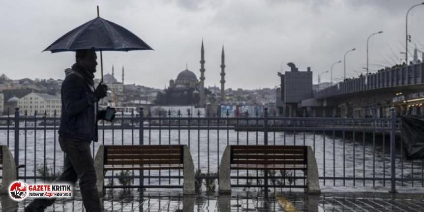 Meteoroloji'den İstanbul'a kırmızı uyarı!