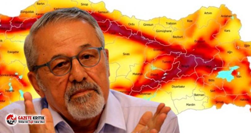 Prof. Dr. Naci Görür: Marmara Denizi'ndeki depremin yeri endişe verici