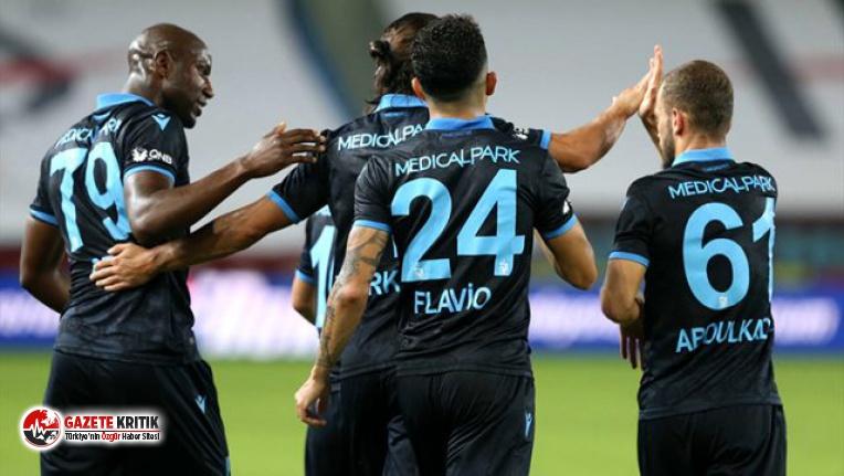 Trabzonspor, evinde Yeni Malatyaspor'u 3-1 mağlup etti