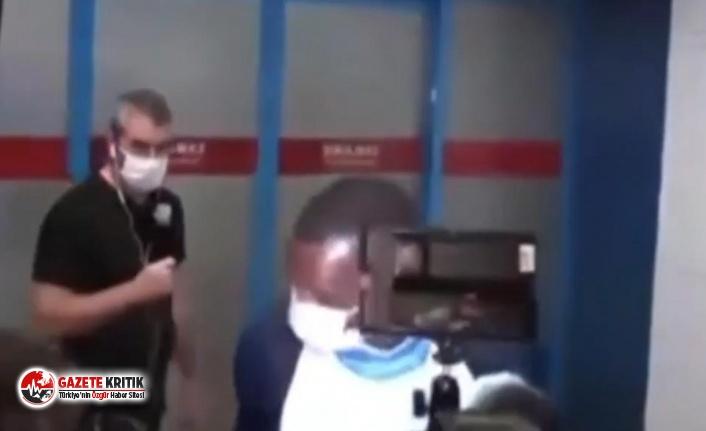 Uçaktan inen siyah vatandaşı Trabzonspor'un yeni transferi zannettiler