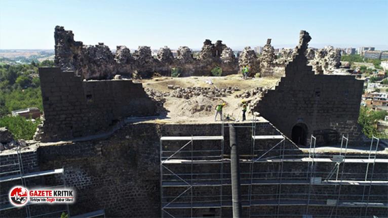 UNESCO mirası Diyarbakır Surları'nda restorasyon başladı