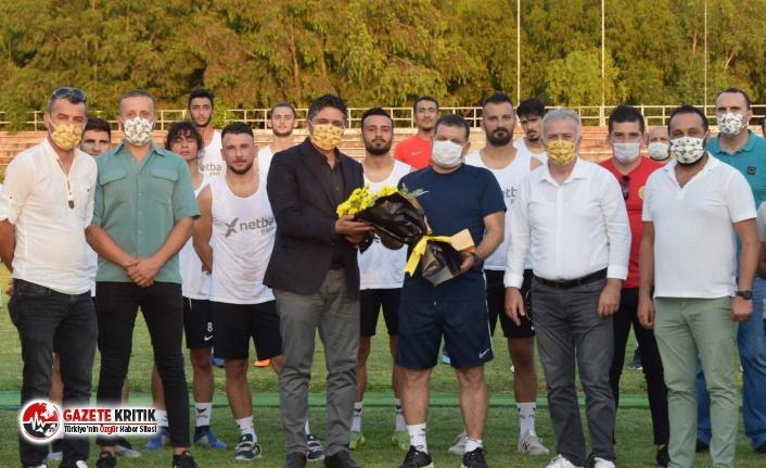 Yeniçeriler'den Aliağaspor FK'ya Destek Ziyareti