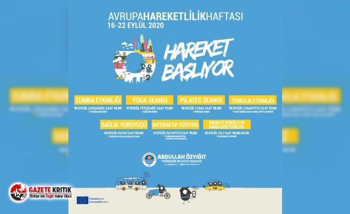 Yenişehir Belediyesi Hareketlilik Haftası'na hazır