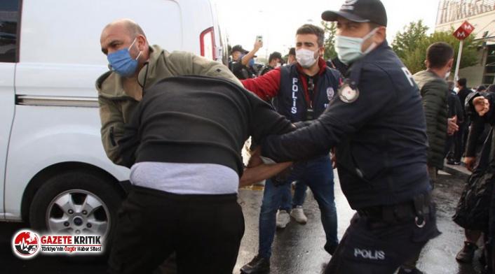 10 Ekim Katliamı anmasına polis müdahalesi: Çok sayıda kişi gözaltına alındı!