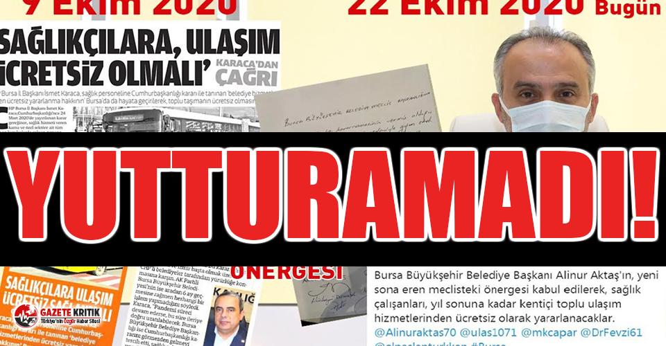 AKP'li başkan CHP'nin önergesini kendisininmiş gibi sundu, sosyal medyada gündem oldu