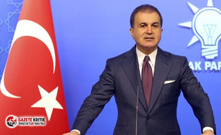 AKP Sözcüsü Ömer Çelik'ten flaş erken seçim açıklaması!