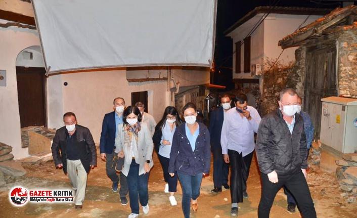 Başkan Sengel'den Şirince'ye akşam ziyareti