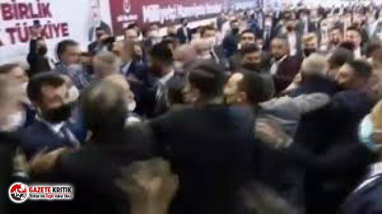 BBP kongresinde yumruklu kavga!